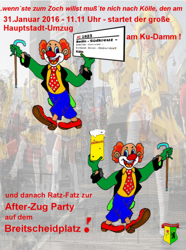 After-Zug Party